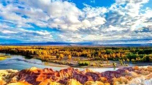新疆喀纳斯-天山天池-吐鲁番-魔鬼城-五彩滩-白沙湖-白桦林双飞8日包团定制游