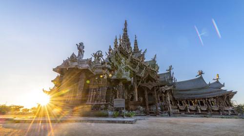 泰国曼谷-芭堤雅-沙美岛机