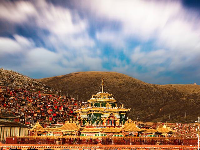 西藏自驾游观音桥+色达+新都桥+稻城+川攻略pocketmine藏南图片