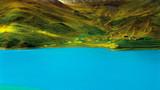 西藏羊卓雍措湖风光