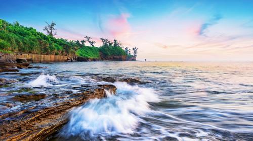 广西北海涠洲岛自然风光