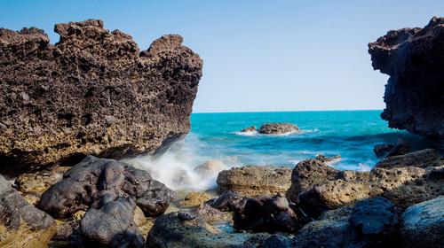广西涠洲岛琼雷火山地质公园