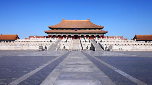北京故宫乾清宫