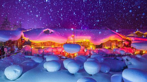 牡丹江雪乡
