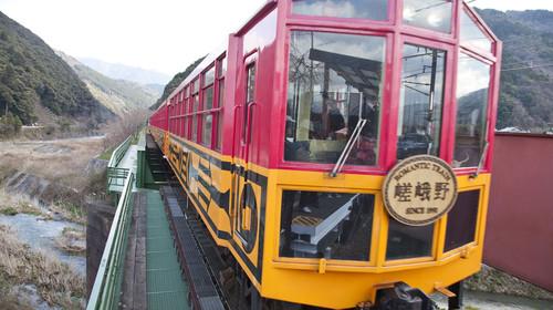 铁道,火车,岚山,京都,日本,亚洲