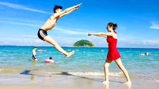 <南澳西沖1日游>八千人出游、好評達9成、快艇環島、海邊BBQ、海邊戲水游玩