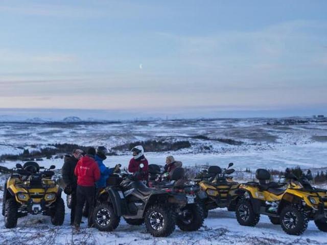 <冰岛 1小时ATV全地形车体验(雷克雅未克往返)>