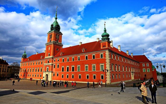 波兰华沙_波兰华沙-皇宫城堡