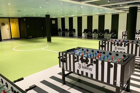 威尼斯号 尤文图斯海上足球训练营