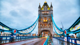 Tower bridge in London, Great Britain in the morning