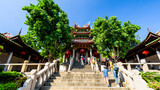 Xiamen, China - September 19, 2018: view of South Putuo Temple in Xiamen, China.