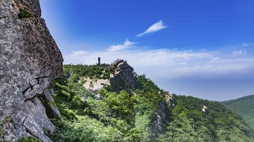 Lianyungang Huaguoshan natural landscape