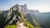 China, province Shaanxi, Huashan Mountain, North Peak view