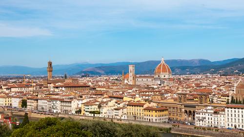 俯瞰佛罗伦萨城市
