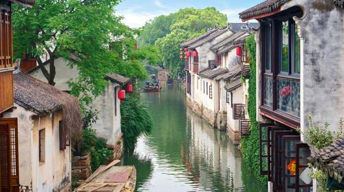 周庄水乡风景