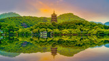 The beautiful landscape of Hangzhou, West Lake