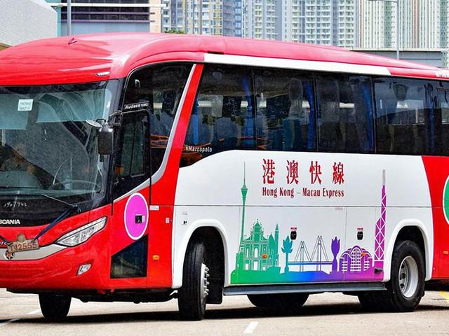 <【港澳快线,途经港珠澳大桥 】香港到澳门港珠澳直通巴士>