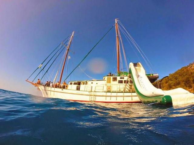 <圣灵群岛三天两夜出海Sailing (高桅横帆船New Horizon号)>