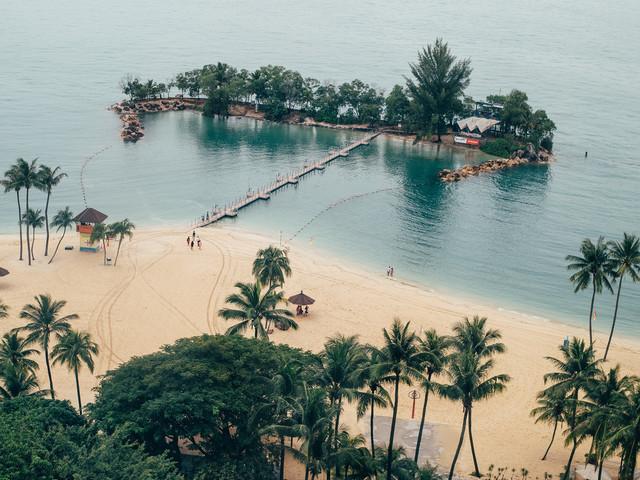 <新加坡首印象+鱼尾狮公园+莱佛士铜像+牛车水+滨海湾花园灯光秀1日游>4至6人精致团 圣淘沙线