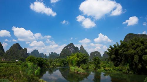 桂林-漓江-阳朔-龙脊梯田
