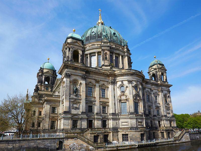 柏林著名建筑简笔画