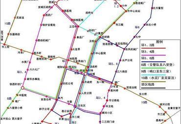北京朝阳区交通线路图.
