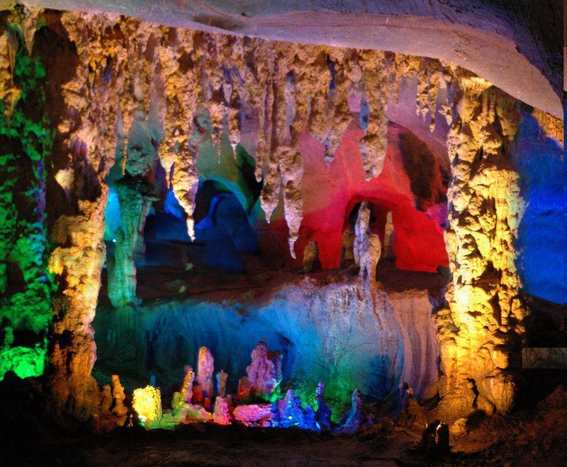 地下旅游清远连州地下河-地下旅游图片