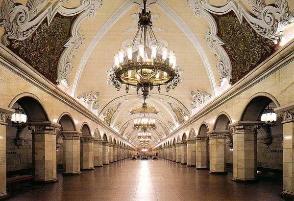 【原创】莫斯科地铁·基辅站 - 白云 - 善待自我 尊严活着 老有所乐