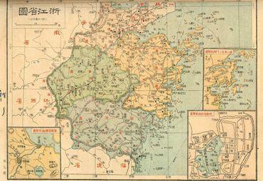 浙江省地图