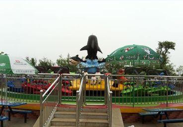 游乐园一角景观