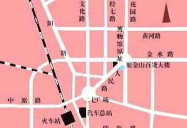 河南省博物院平面图