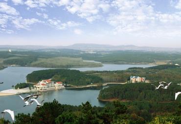 安徽旅游 滁州旅游 来安县旅游 白鹭岛温泉图片   白鹭岛温泉美图集锦