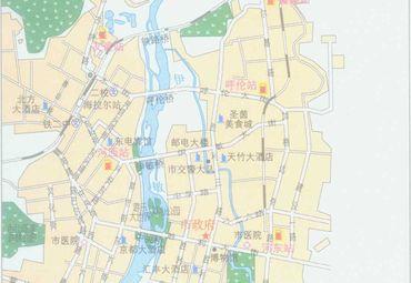 【呼伦贝尔地图】呼伦贝尔全图查询图片