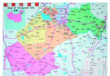 松原市地图