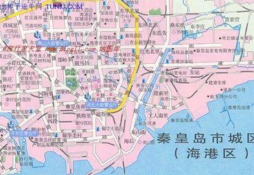 秦皇岛地图高清版大图