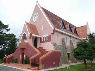 大叻天主教堂旅游攻略 2014大叻天主教堂自助游攻略