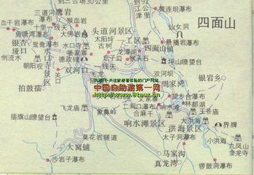重庆旅游 江津旅游 江津地图