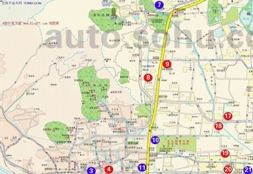 北京市旅游地图 (2