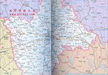 四川省南充市市区地图