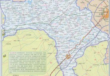 吉林省公主岭市地图图片