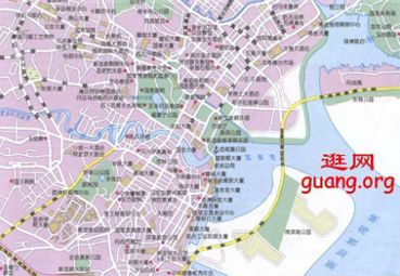 亚洲旅游 新加坡共和国地图