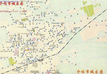 【介休市地图】介休市全图查询_2017中国山西晋中介休图片