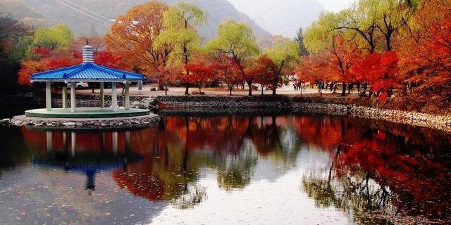 山西藏山风景区风景图片