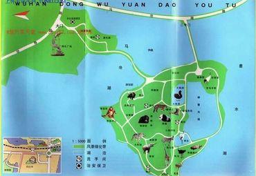 武汉动物园地图