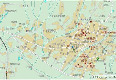 四川西昌市城市面积多大
