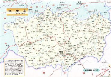 昭通地图 云南地图 昭通市区地图