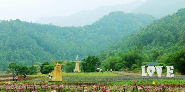 南丹山原生态风景区风景图片