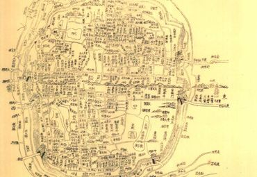 湖北省内外街道图