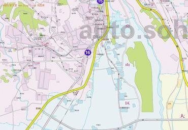 北京市旅游地图