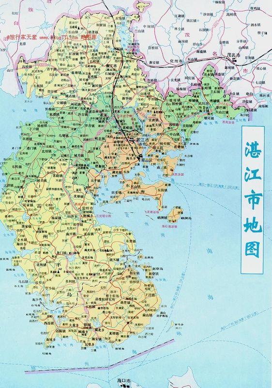 遂溪地图全图高清版